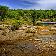 Texas Hill Country Stream Poster by David and Carol Kelly