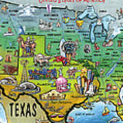 Texas Usa Poster