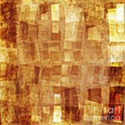 Textured Background Poster by Jelena Jovanovic