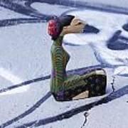 Thai Figurine 5 Poster by William Patrick