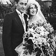 Thalberg And Shearer Wedding Poster
