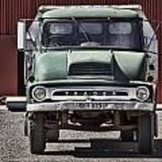 Thames Trader Vintage Truck Poster