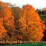 Thank And Praise Poster
