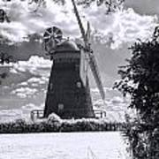 Thaxted Mill In Full Sail Poster