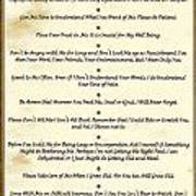 The 10 Commandments  For Pets  Antique Marble Poster