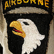 The 101st Airborne Division Emblem Poster