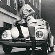The 14 Millionth Volkswagen Beetle Given To The World Poster