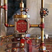The Acme Steam Engine Poster