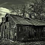The Adirondack Mountain Region Barn Poster