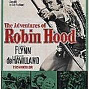 The Adventures Of Robin Hood B Poster