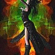 The Allure Of Night Fantasy Art Poster