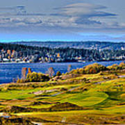 The Amazing Chambers Bay Golf Course - Site Of The 2015 U.s. Open Golf Tournament Poster
