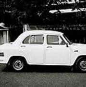 The Ambassador Car Poster