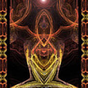 The Angel Of Meditation Poster