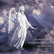 The Angel Of The Lord Poster