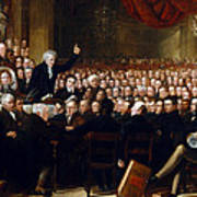 The Anti-slavery Society Convention 1840 Poster