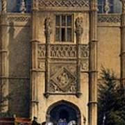 The Arch, Montacute House, Somerset Poster