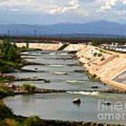The Arkansas River And Pike's Peak Poster