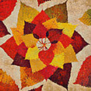 The Artistry Of Fall Klimt Homage Poster