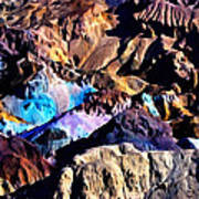 The Artists Palette Death Valley Poster