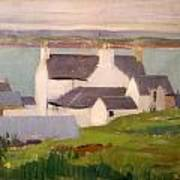 The Artists Studio Iona Poster by Francis Campbell Boileau Cadell