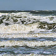 The Atlantic Ocean At Sullivan's Island Poster
