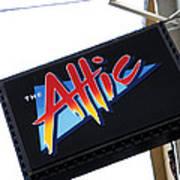 The Attic Myrtle Beach Sc Poster