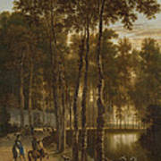 The Avenue Of Birches Poster