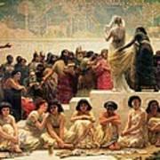 The Babylonian Marriage Market, 1875 Poster by Edwin Longsden Long