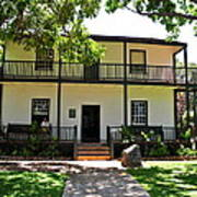 The Baldwin House In Lahaina I Poster
