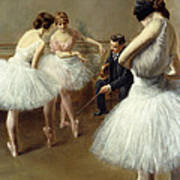 The Ballet Lesson Poster