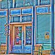 The Barbershop Hdr Poster