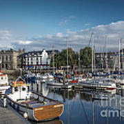The Barbican Plymouth Devon Poster by Donald Davis