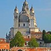 The Basilica Di Santa Maria Della Salute Poster