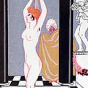 The Basin Poster by Georges Barbier