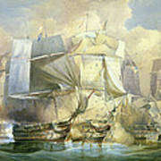 The Battle Of Trafalgar Poster