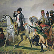 The Battle Of Wagram, 6th July 1809, 1836 Oil On Canvas Poster
