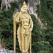 The Batu Caves Poster
