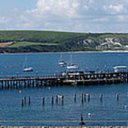 The Bay At Swanage Poster
