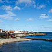 The Beach At Cullercoats Poster