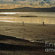 The Beach At Mounts Bay Poster