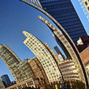The Bean - 1 - Cloud Gate - Chicago Poster