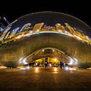 The Bean Chicago Poster