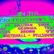 The Beatles Debut On Ed Sullivan Poster
