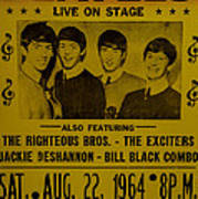 The Beatles First Time In Canada. Poster