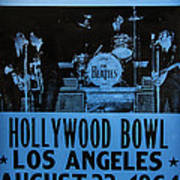 The Beatles Live At The Hollywood Bowl Poster