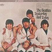 The Beatles Yesterday and Today Butcher Album Cover Poster