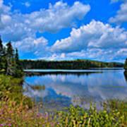 The Beautiful Lake Abanakee New York Poster