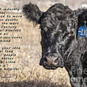 The Beef Industry Poster