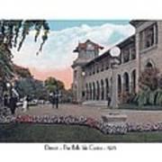 The Belle Isle Casino - Detroit - 1923 Poster